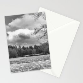Frozen Lake Panorama Stationery Cards