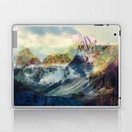 Mountain landscape digital art Laptop & iPad Skin