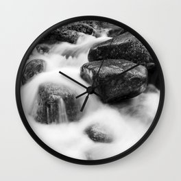 Wild river Wall Clock