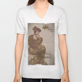 There's Moss, That's For Maternal Love Unisex V-Neck