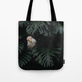 Little Lovebird Hiding Tote Bag