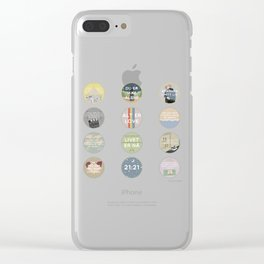 EVAK: A MINIMALIST LOVE STORY VOL. II Clear iPhone Case