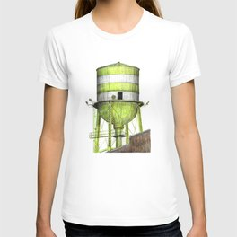 Montreal's Water Tower (Lachine Canal) T-shirt
