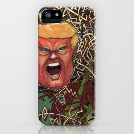 Maniac In Chief iPhone Case