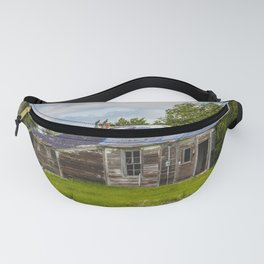 Unusual Abandoned Building, Burleigh County, ND 10 Fanny Pack
