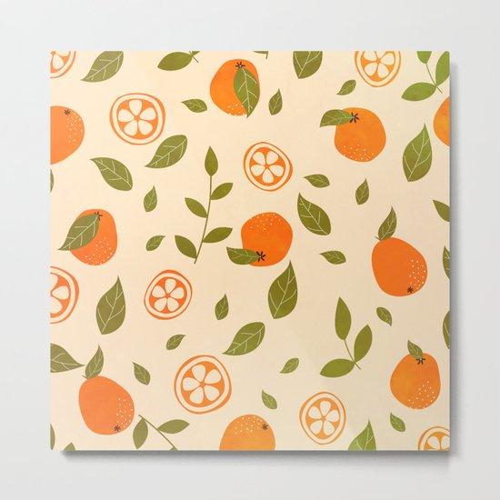 Oranges lover Metal Print