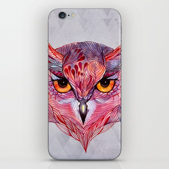 Owla owl iPhone & iPod Skin
