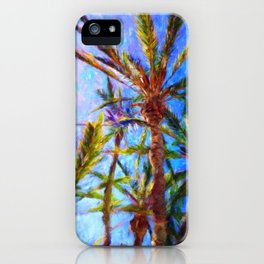 Avalon Palms - Help Fund Education for Impoverished Kids in Malawi, Africa @MoreThanAid iPhone Case