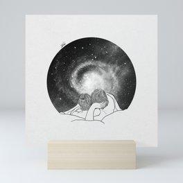 Our imaginary night. Mini Art Print