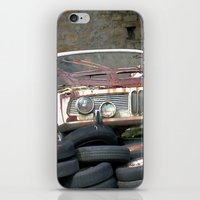 bmw iPhone & iPod Skins featuring Old BMW Wreck by Premium