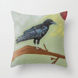 Love carrier Throw Pillow
