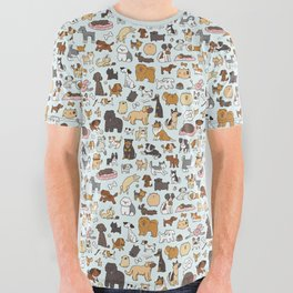 Doggy Doodle All Over Graphic Tee