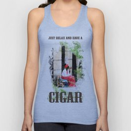 HAVE A CIGAR Unisex Tank Top