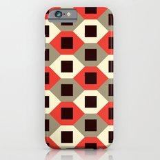 Hexagon pattern (red) Slim Case iPhone 6s