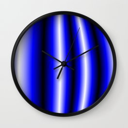 four Pipes Wall Clock