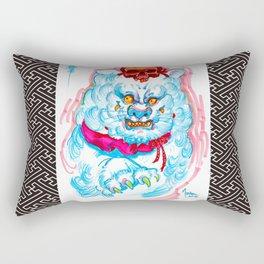 Jack 'Horimouja' Mosher Fudomyoo Sayagata Cat Rectangular Pillow