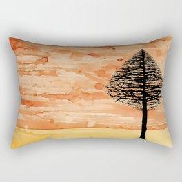 Tree Top. Rectangular Pillow