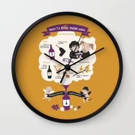 How To Make Divine Wine Wall Clock