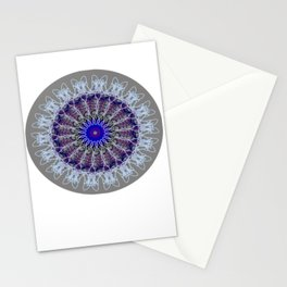 Mandala #102, Taupe Stationery Cards