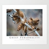 Great Personality Art Print