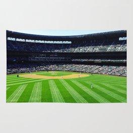 Safeco Field in Seattle Washington - Mariners baseball stadium Rug