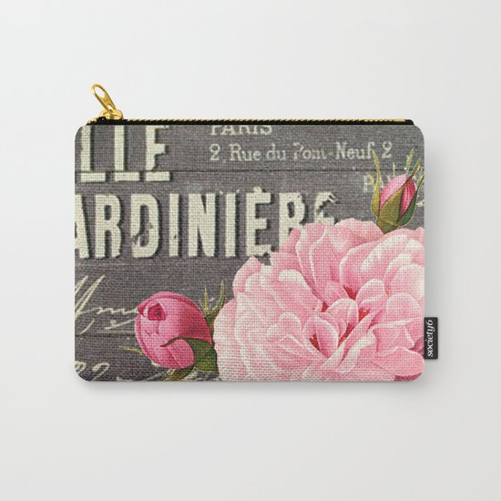 Vintage roses #1 Carry-All Pouch