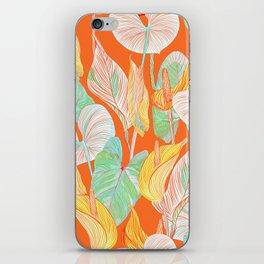 Lush Lily - orange zest iPhone Skin