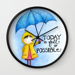 Today is full of Possible Wall Clock