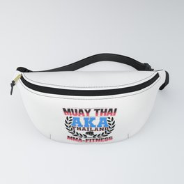 Muay Thai MMA Thailand Fitness Fanny Pack