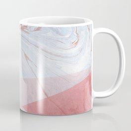 Strawberry and Cream Marble Coffee Mug