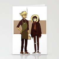 durarara Stationery Cards featuring Kids These Days by rhymewithrachel