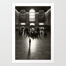 The Wait Art Print