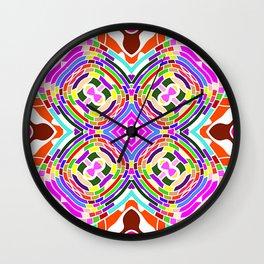 Modern Colorful abstract Pattern SB84 Wall Clock
