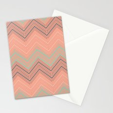 Soft Chevron Stationery Cards