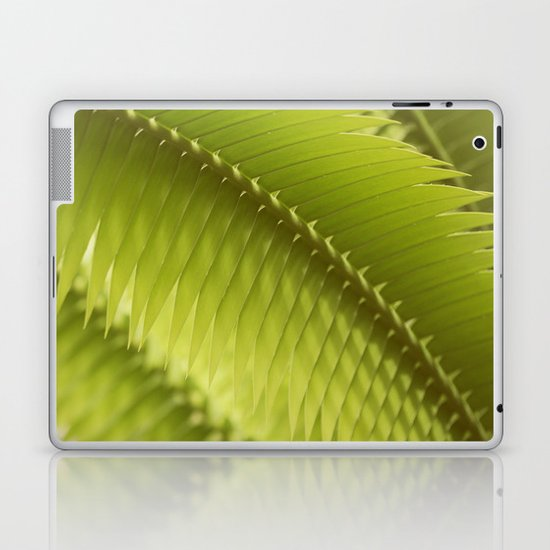 Lemon Grass Laptop & iPad Skin