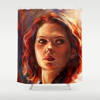 battlefield Shower Curtains featuring Battlefield by Five-Oclock