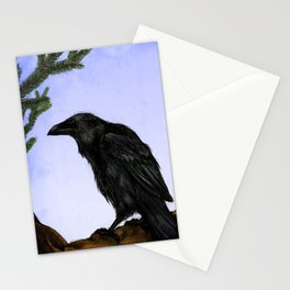 Huginn and Muninn Stationery Cards