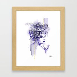 Miss Saint Petersburg Framed Art Print