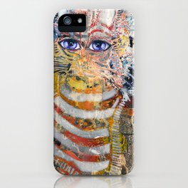 Enchanted Feline and Mona iPhone Case