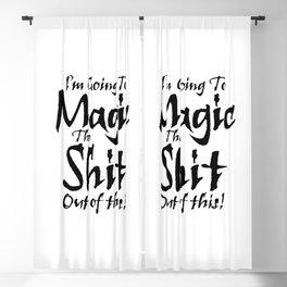 The Magic / When all else fails Blackout Curtain
