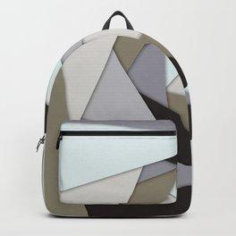 Rotating Geometric Layers Backpack