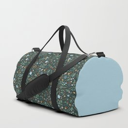 Winter Floral Duffle Bag