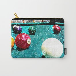 Billiards print work 7 Carry-All Pouch