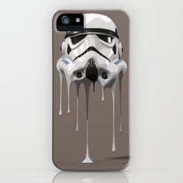 Stormtrooper Melting iPhone Case