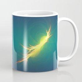 Fractal Phoenix Rising Coffee Mug