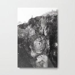 Grim Metal Print