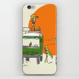 Green Native Adventure iPhone Skin