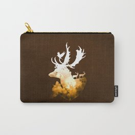 Deer Autumn Carry-All Pouch