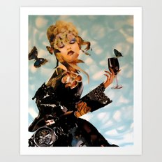 Its Wine Time Art Print
