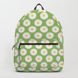 Spring Daisies_Greenery Backpack